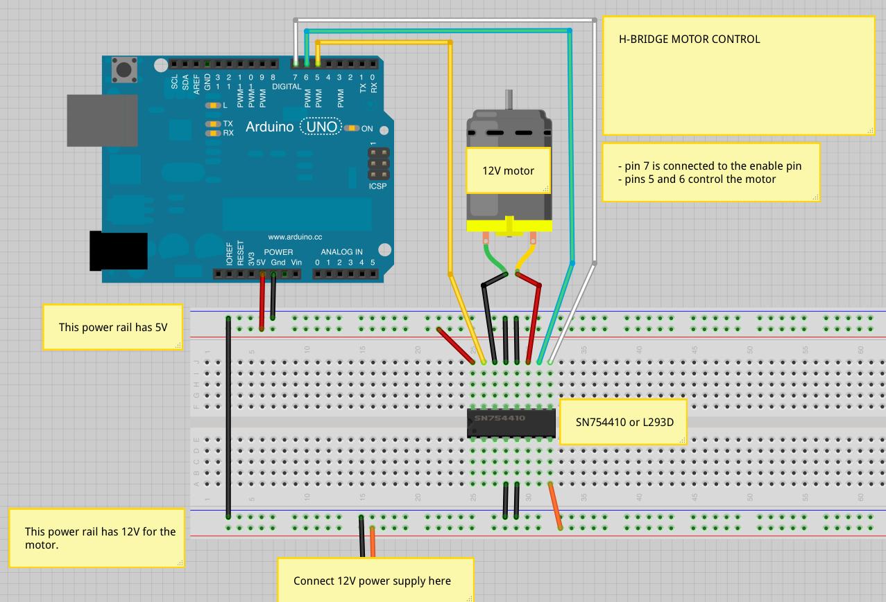 Motors Actuators Sound And Physical Interaction H Bridge Circuit Design